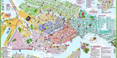 Karta Venecija Karte Veneciji Italija